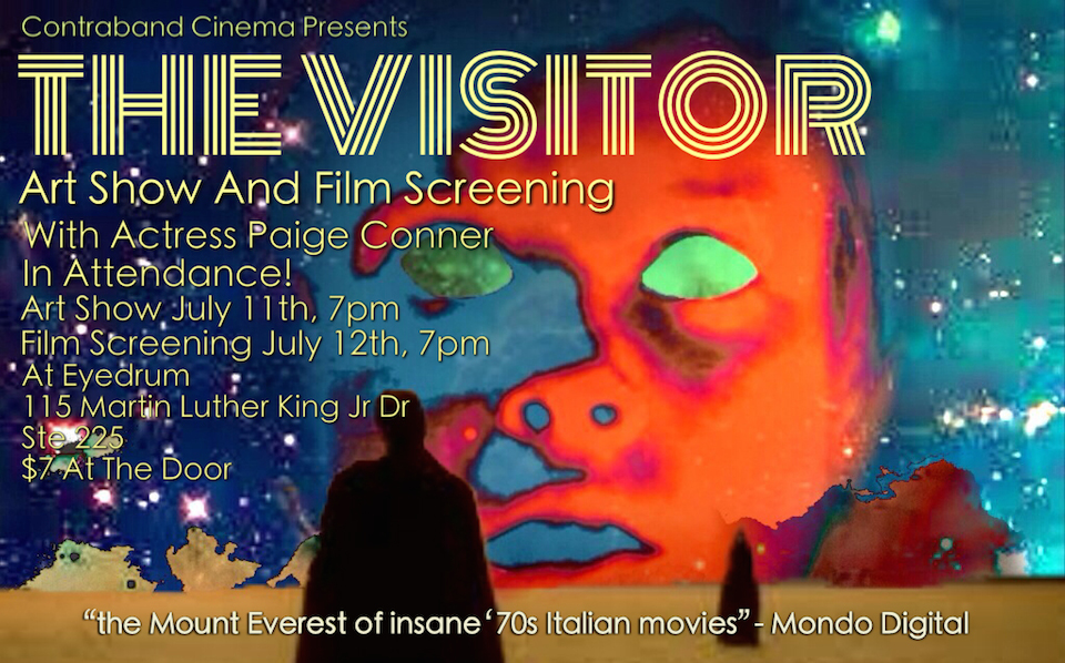 The Visitor Contraband Poster
